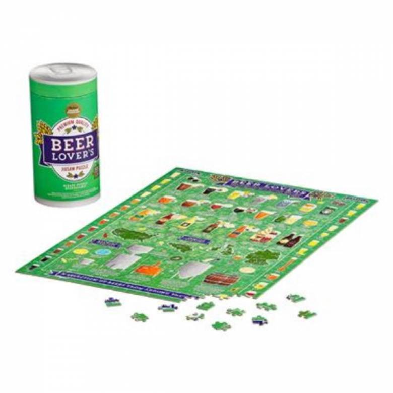 Beer Lovers' Jigsaw Puzzle 500 Pieces