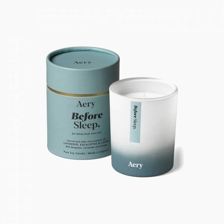 Before Sleep Lavender & Eucalyptus - Scented Candle By Aery