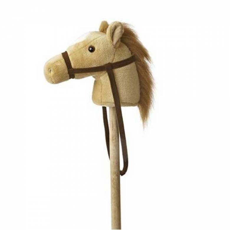 Hobby Horse Beige Pony With Sound