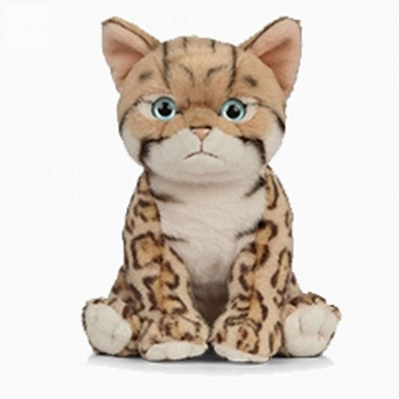 Bengal Kitten Soft Toy 18cm