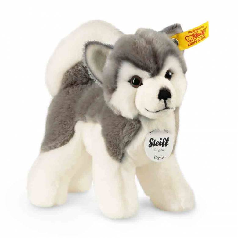 Bernie The Husky Soft Toy By Steiff