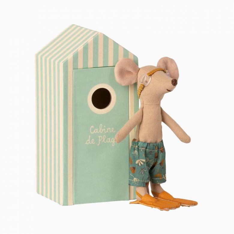 Big Brother Mouse In Beach Cabin Beach Mice 3+