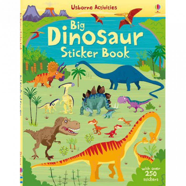 Big Dinosaur Sticker Book Paperback Book