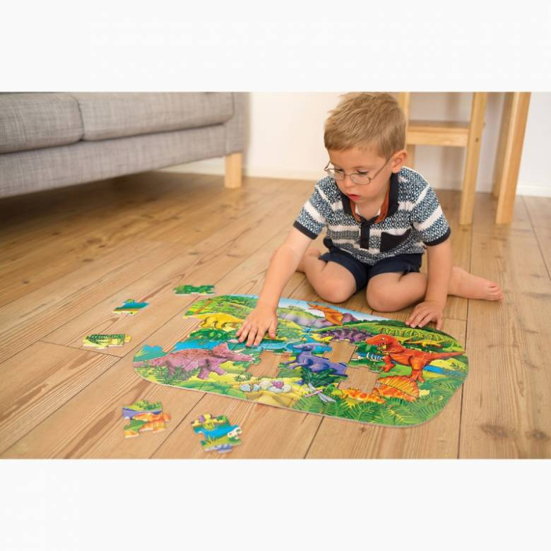 Big Dinosaurs 50 Piece Jigsaw Puzzle By Orchard Toys 4+
