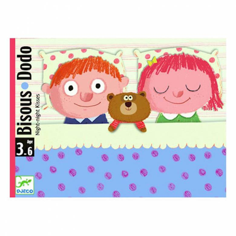 Bisous Dodo Card Game - Bedtime Game for Younger Children 3-6yrs