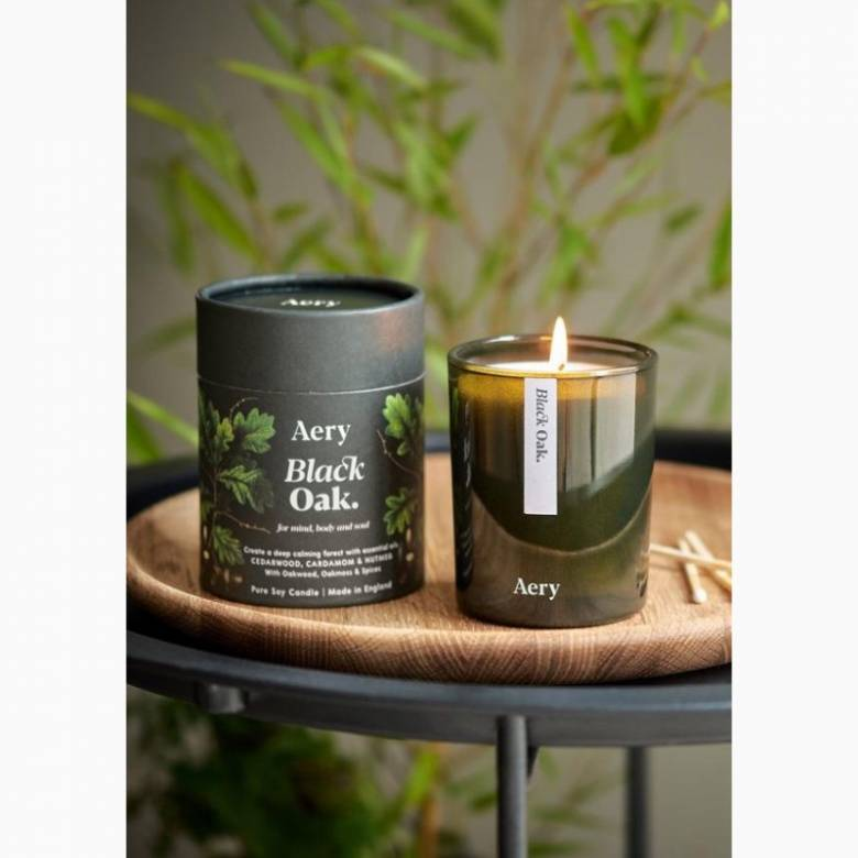 Black Oak - Scented Candle By Aery