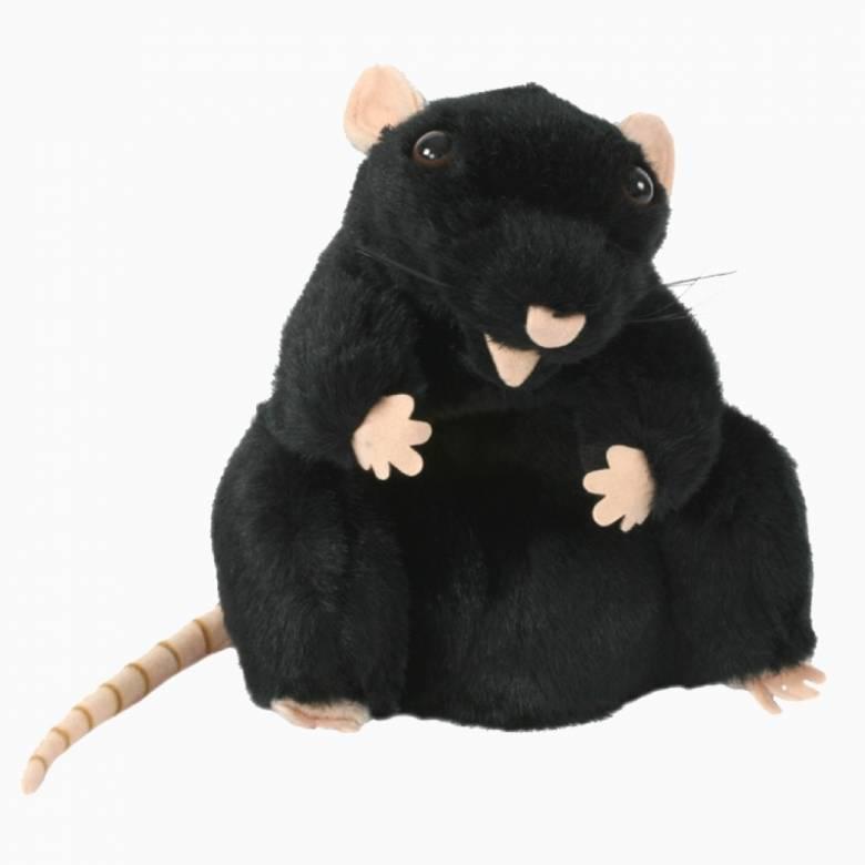Black Rat -  Plump Glove Puppet European Wildlife