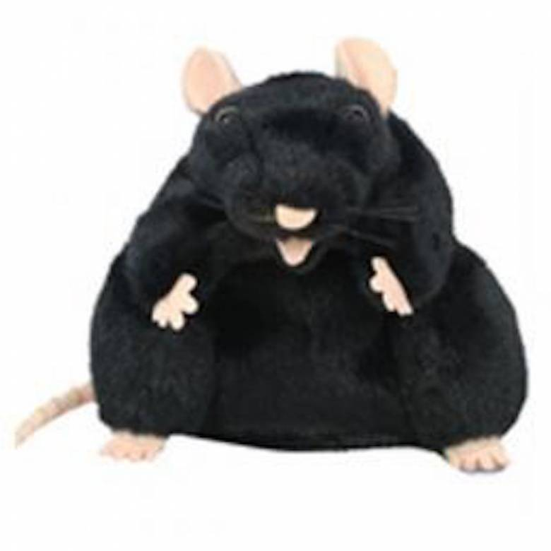 BLACK RAT Plump Glove Puppet European Wildlife
