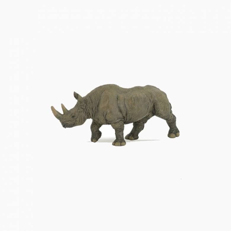 Black Rhinoceros - Papo Wild Animal Figure
