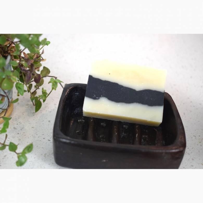 Black Terracotta Soap Dish