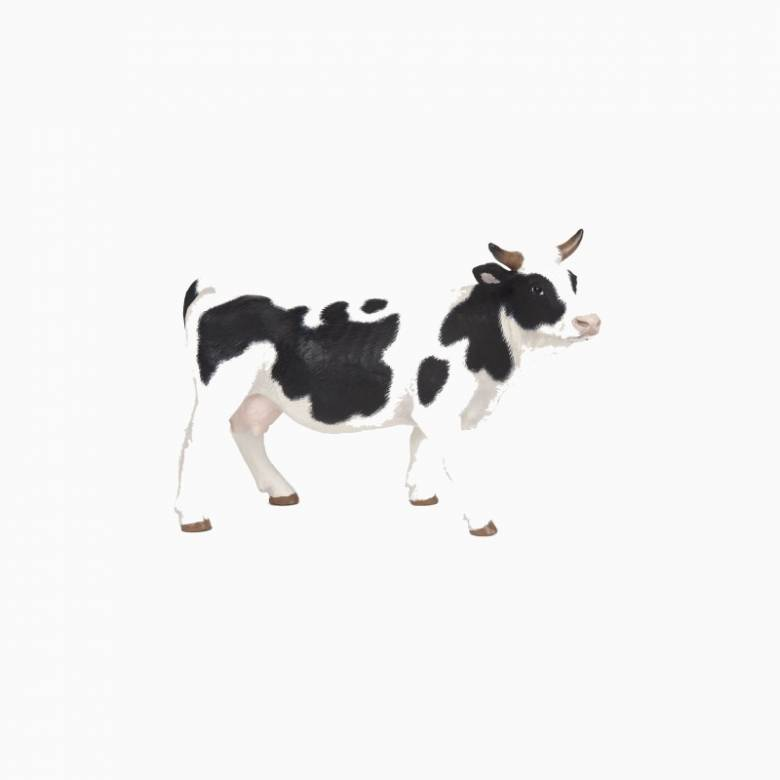 Black & White Cow - Papo Farm Animal Figure