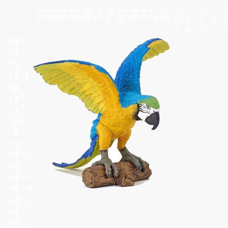 Blue Ara Parrot - Papo Wild Animal Figure
