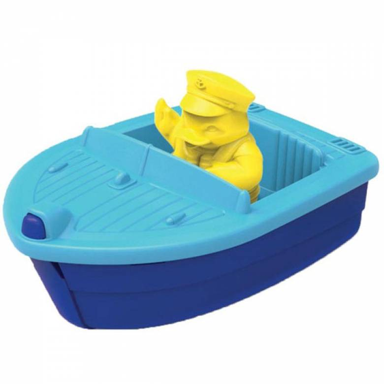 Blue Launch Boat By Green Toys - Recycled Plastic 2+