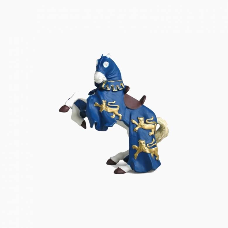 Blue King Richard Horse - Papo Fantasy Figure