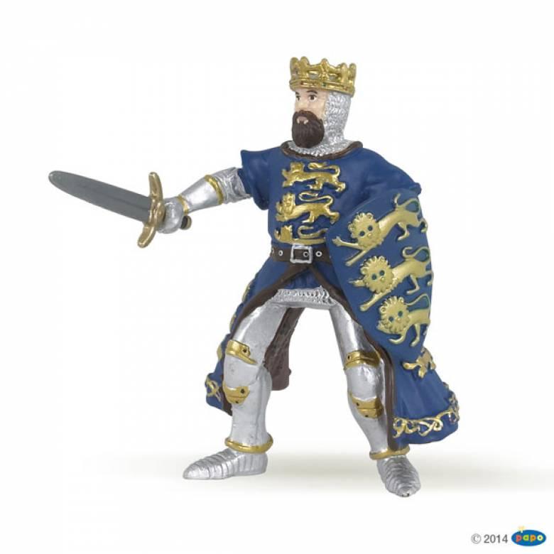 BLUE KING RICHARD Papo Knight Figure
