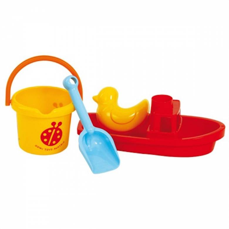 Boat Sand Set With Bucket And Spade 1+