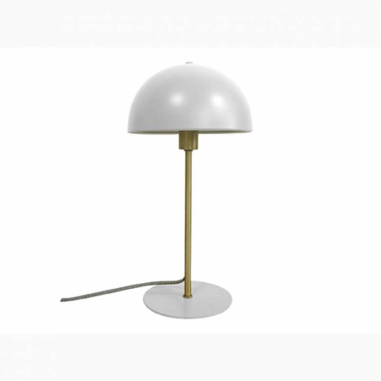 Bonnet Metal Table Lamp In White