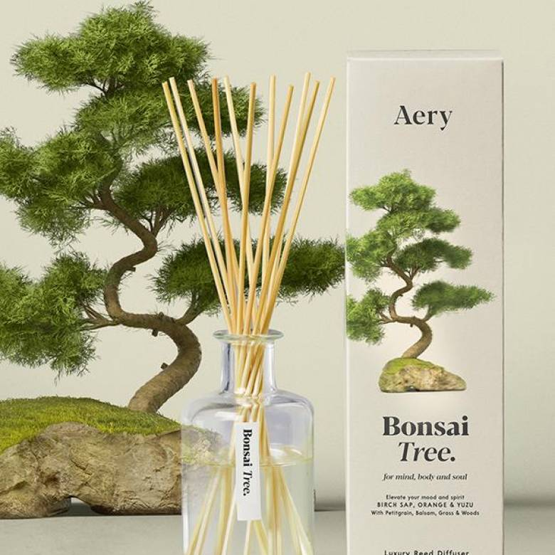 Bonsai Tree Reed Diffuser By Aery