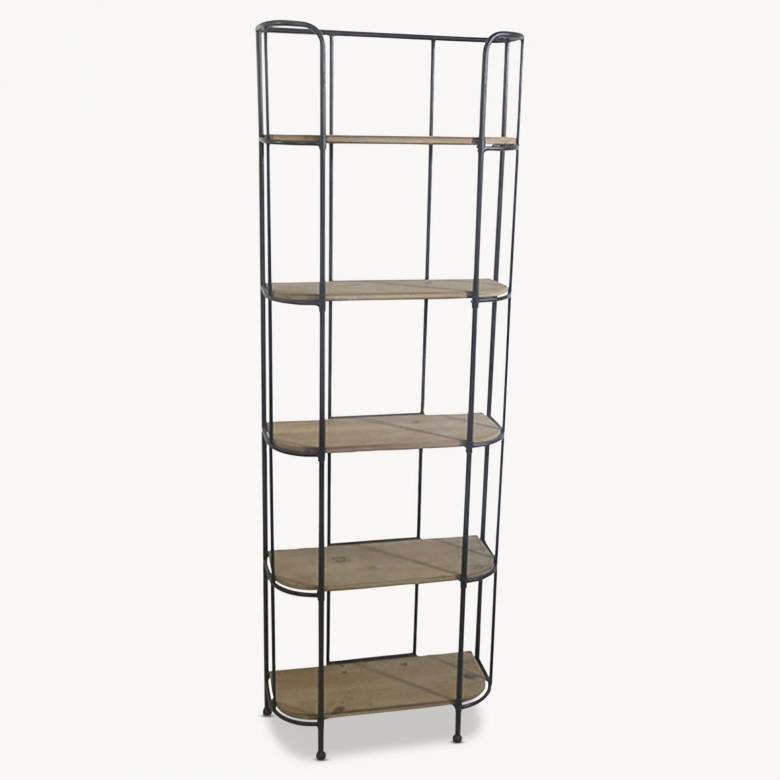 Bookshelf - Factory Style Shelving Unit