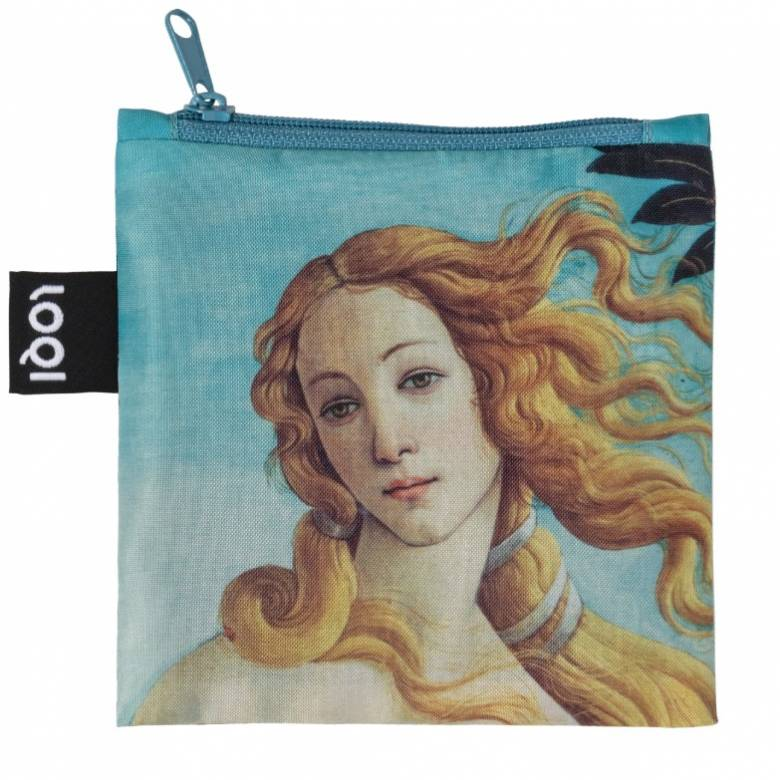 Botticelli Venus - Reusable Tote Bag With Pouch