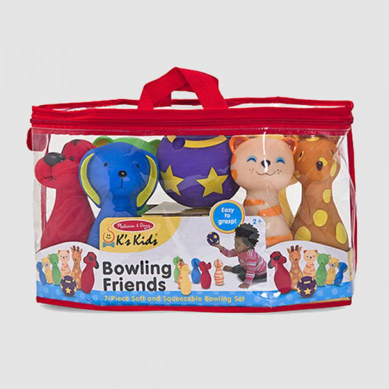 Bowling Friends Indoor Skittle Set 2+
