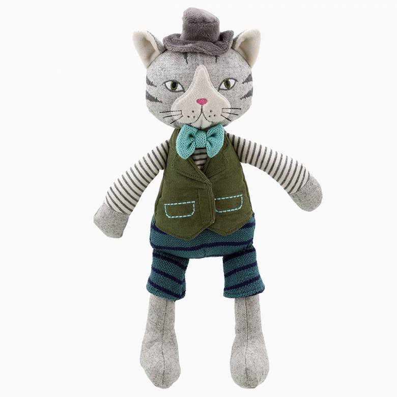 Boy Cat - Wilberry Friends Soft Toy 0+