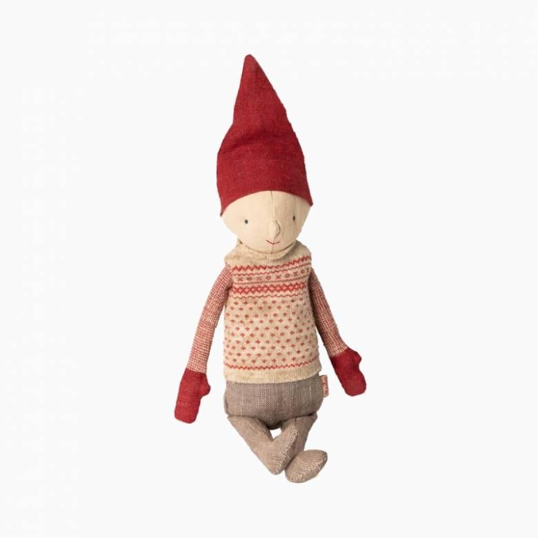Boy Pixy Soft Toy Winter Friends By Maileg 0+
