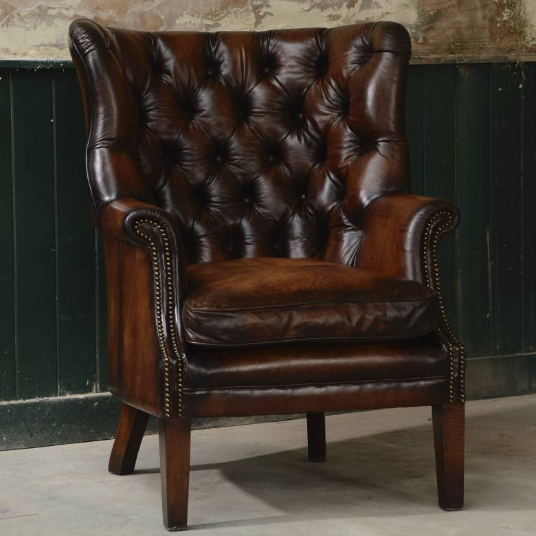 Bradley Leather Armchair