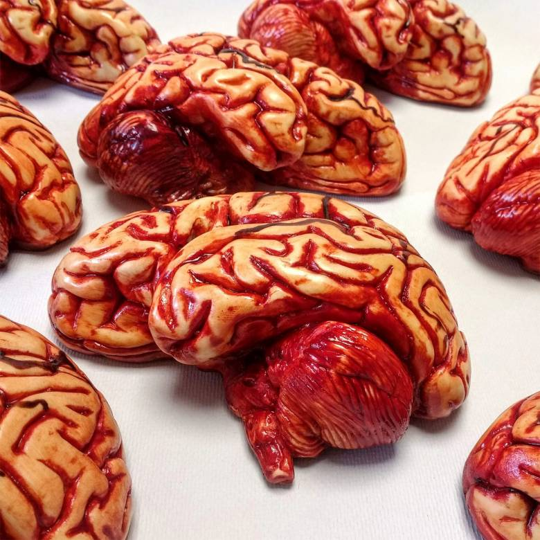 Brain In White Chocolate By The Edible Museum