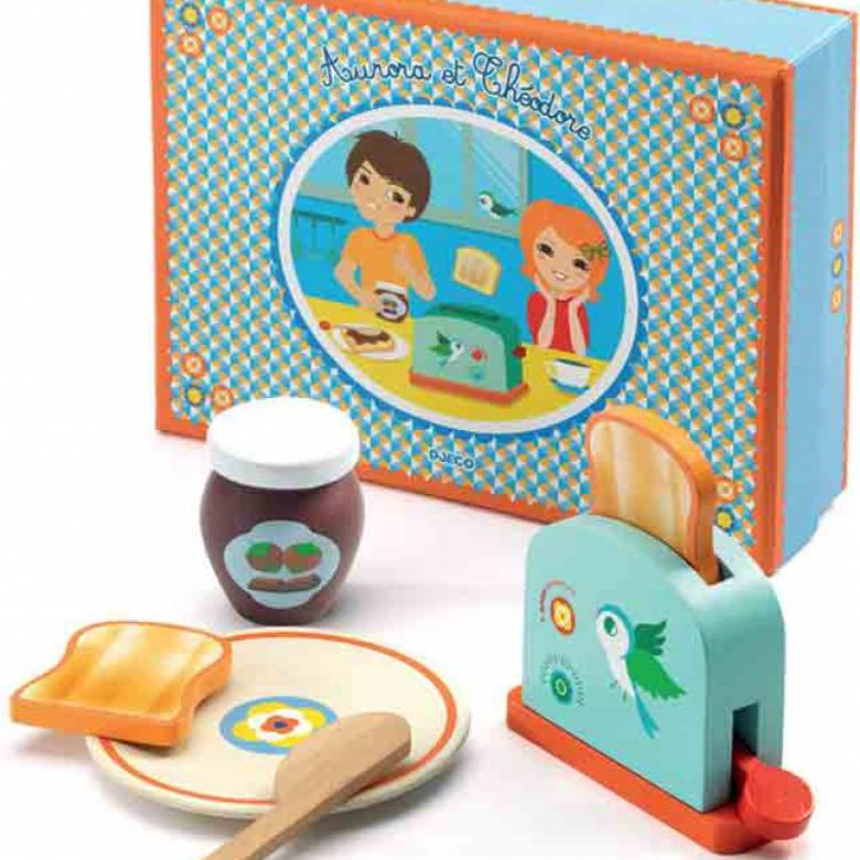 Breakfast Set Aurora & Theodore By Djeco