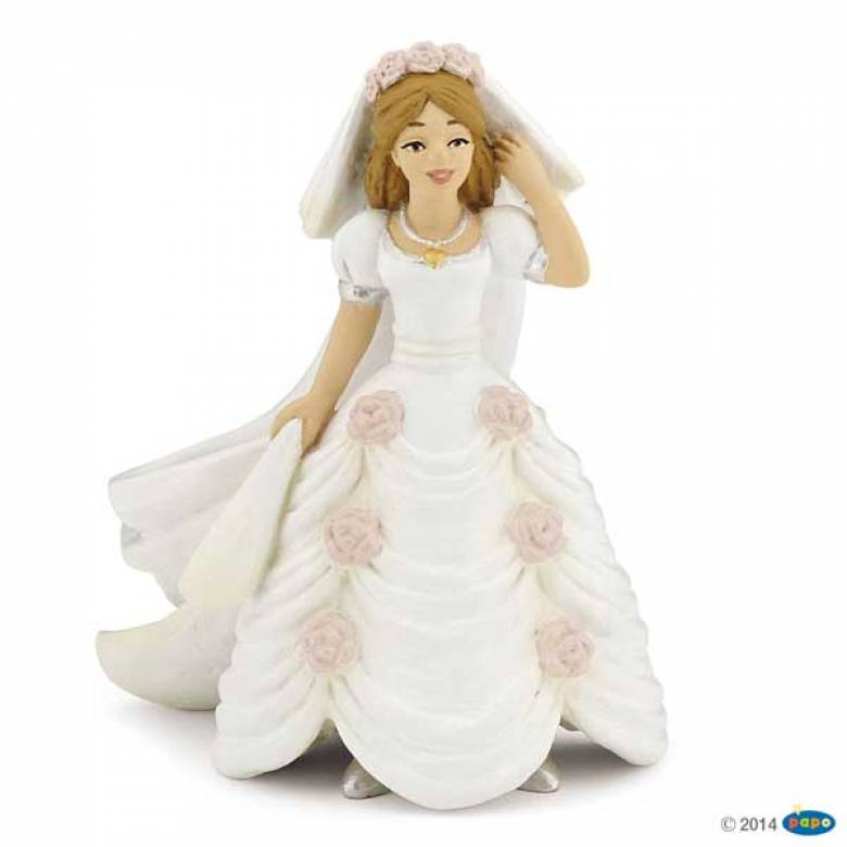PAPO Bride with flowers Figure
