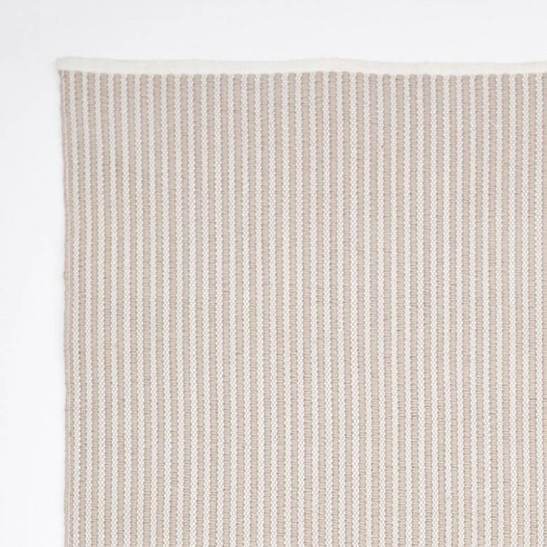 Brighton Stripe Chinchilla 110x60cm Recycled Bottle Rug