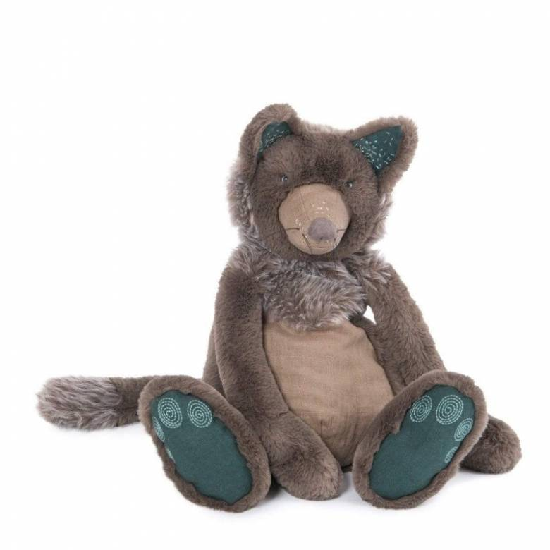 Brindille The Wolf Rendezvous Soft Toy 10m+
