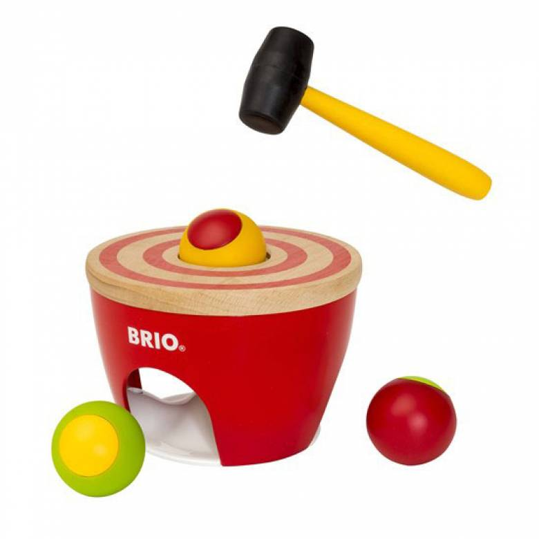 Wooden Ball Pounder By BRIO® 18m+