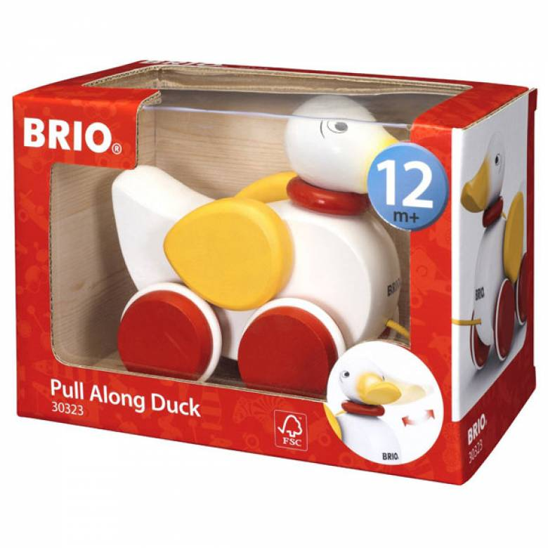 Pull Along Duck By BRIO 1+