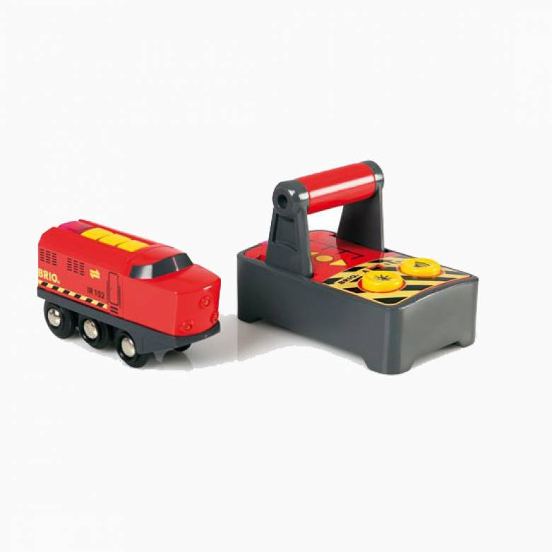 Remote Control Engine BRIO® Wooden Railway Age 3+