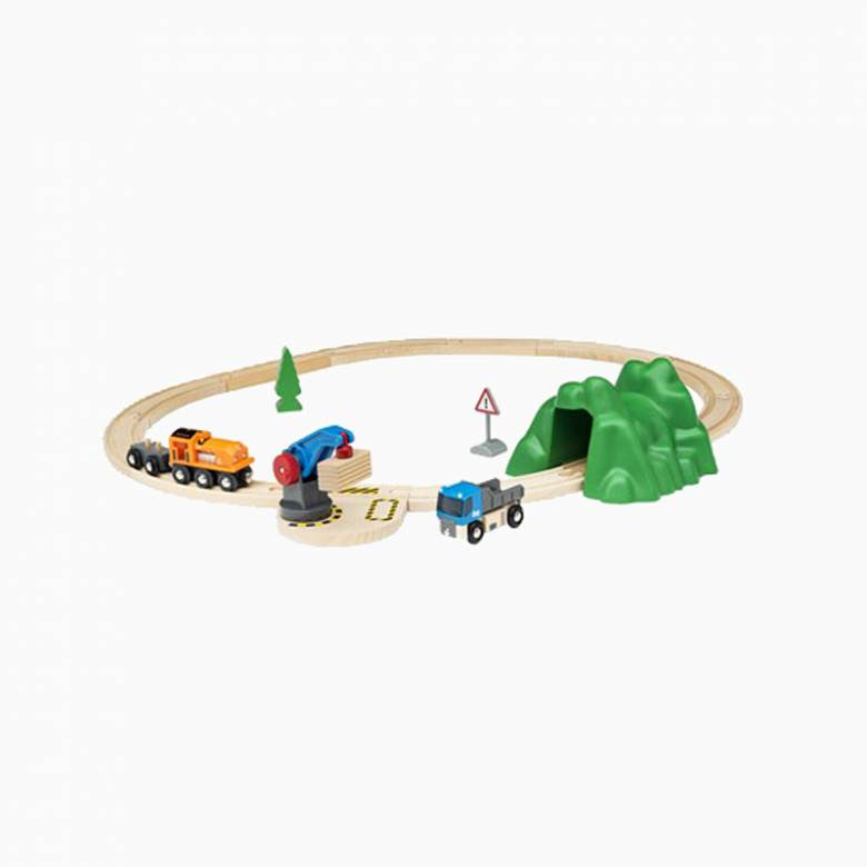 "Lift & Load Starter Set ""A"" BRIO® Wooden Railway Age 3+"