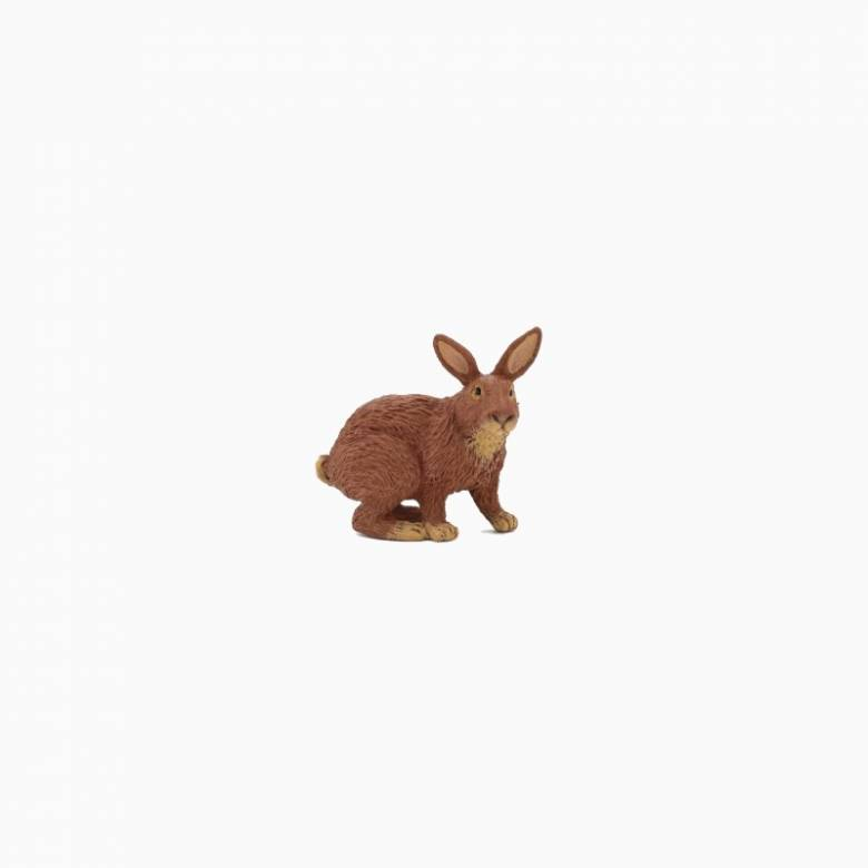 Brown Rabbit - Papo Farm Animal Figure