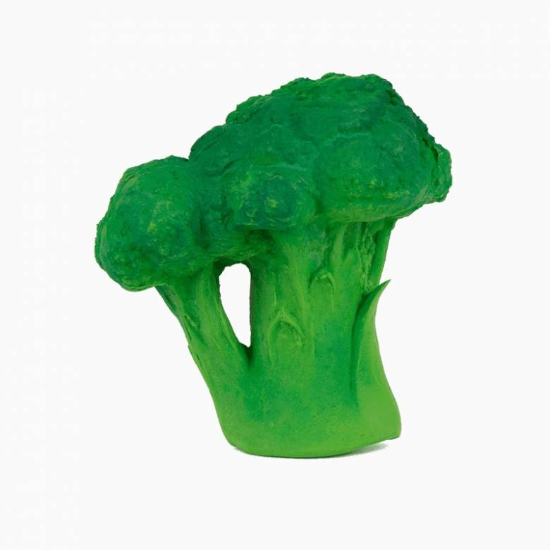 Brucy The Broccoli - Natural Rubber Teething Toy 0+