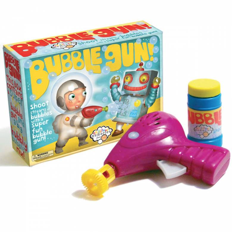 Bubble Gun In Box