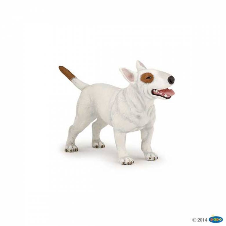 Bull Terrier Dog PAPO ANIMAL