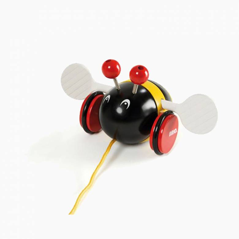 Bumblebee Pull Along Toy By BRIO 1+