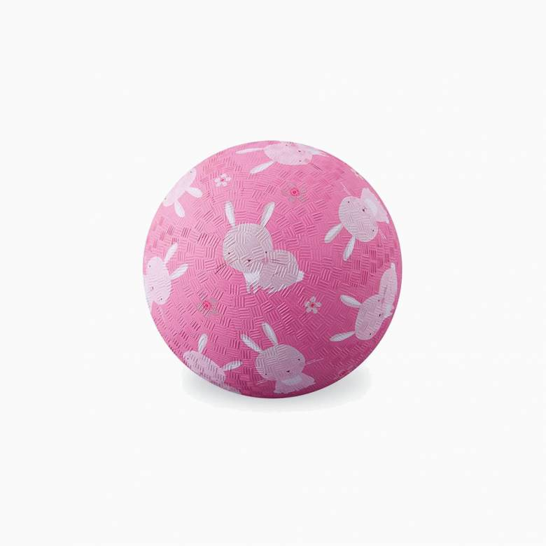 Pink Bunny - Small Rubber Picture Ball 13cm