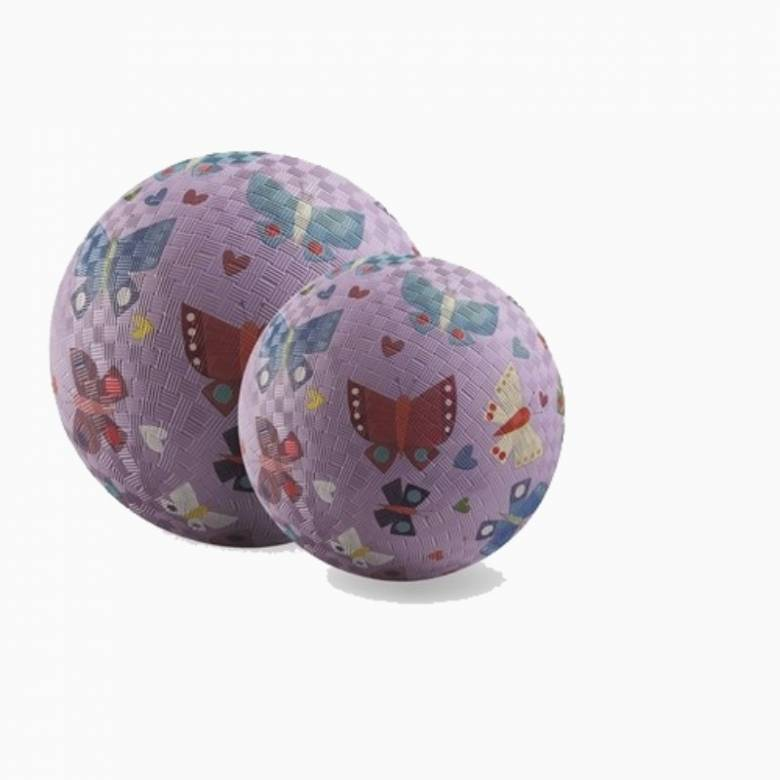 Butterfly - Large Rubber Picture Ball 18cm
