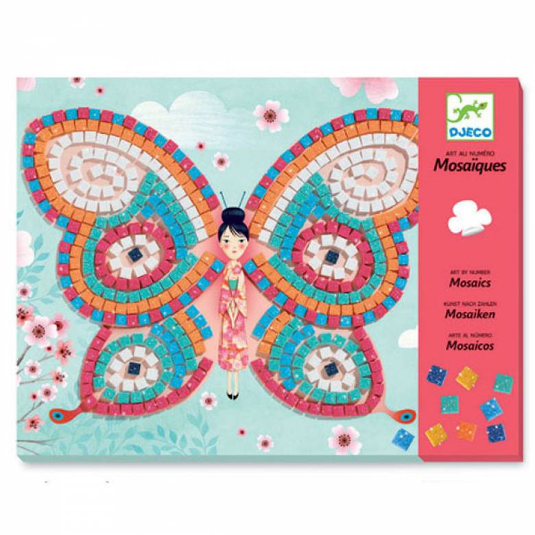 Butterflies - Mosaic Art Set 4+