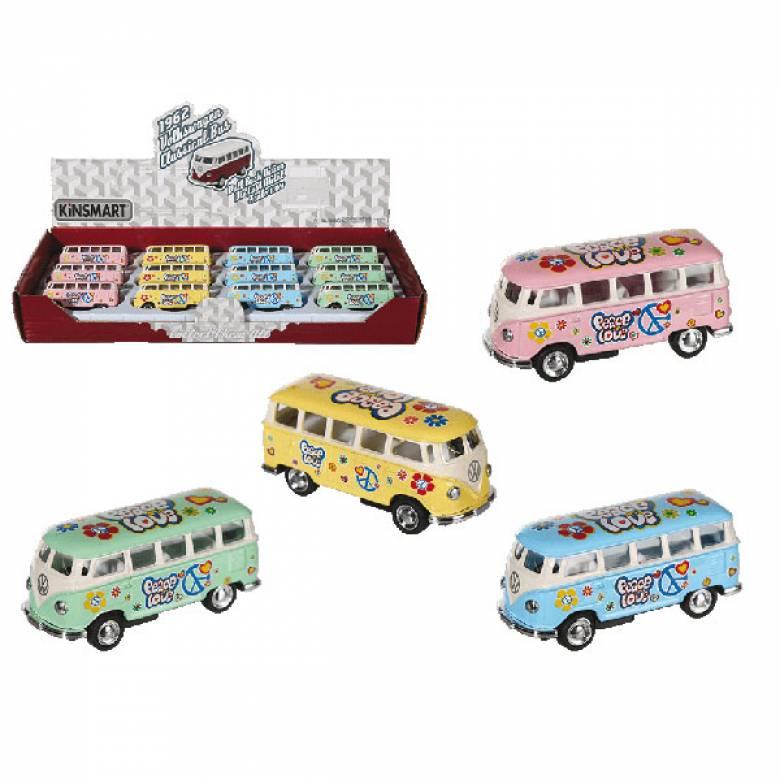 Mini Pull Back Camper Van Metal Toy VARIOUS 3+