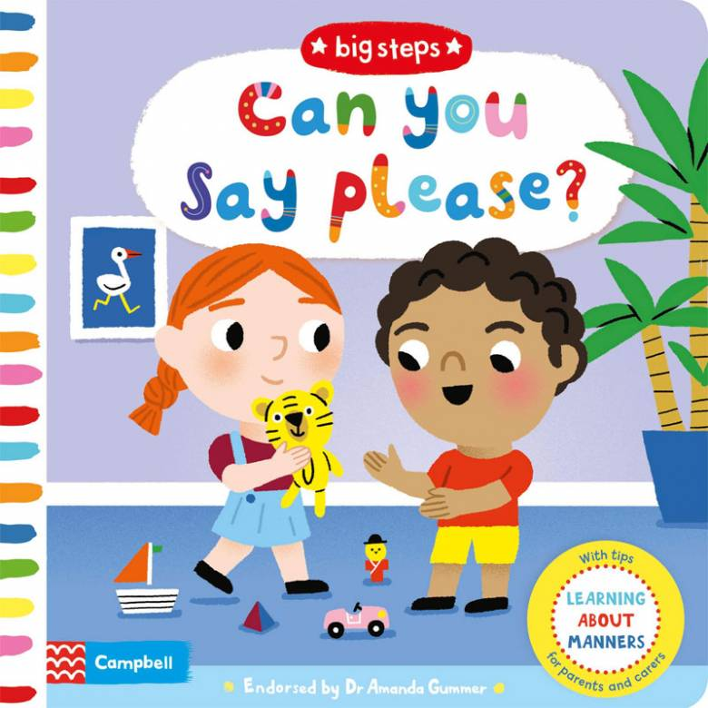 Can You Say Please? - Board Book