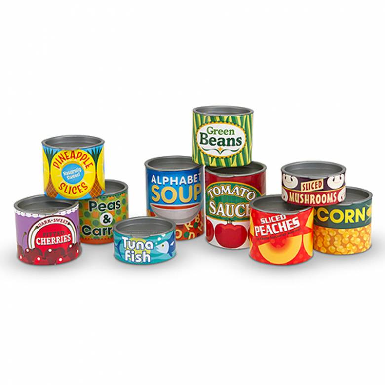 Canned Food Play Set By Melissa & Doug