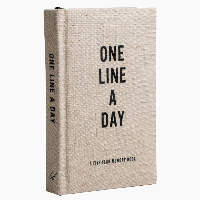 Canvas One Line A Day: Five Year Memory Book