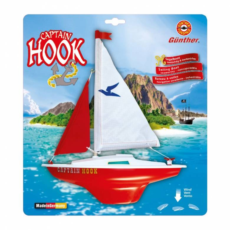 Captain Hook Sailing Boat Toy 8+